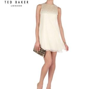 - Ted Baker London Hasse Chiffon Panel Sequin